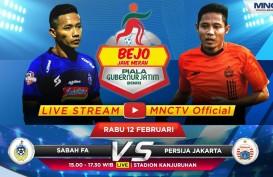 Persija Tekuk Sabah FA 2-0, Kokoh di Grup B Piala Gubernur Jatim