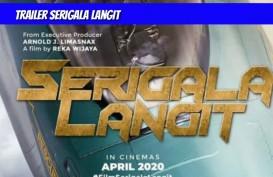 Serigala Langit Rilis First Look Poster dan Video Teaser
