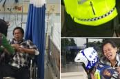 Penumpang TransJakarta Serangan Jantung, Digendong Polisi ke RS Harapan Kita
