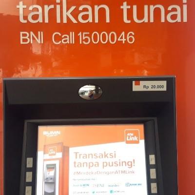 Bank Bni Juga Punya Atm Pecahan Rp20 000 Di Sini Tempatnya Finansial Bisnis Com