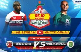Persebaya Hajar Madura United 4-2, Lolos ke Semifinal Piala Gubernur Jatim