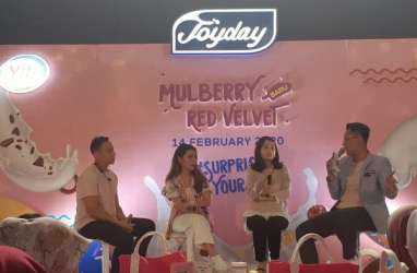 Rayakan Valentine, Joyday Luncurkan Es Krim Mulberry Red Velvet