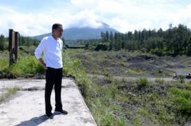 Jokowi Tinjau Kesiapan Pengendali Lahar Merapi