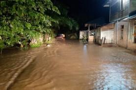 Banjir Rendam Ratusan Rumah di Pasaman Barat