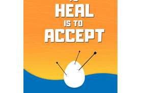 Buku To Heal is To Accept dari Adi K Resmi Dirilis