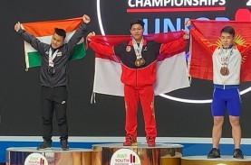 Muhammad Faathir Kembali Pecahkan Rekor di Uzbekistan