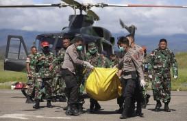 Delapan Korban Helikopter Jatuh Diterbangkan ke Semarang dan Surabaya