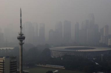 Kualitas Udara Jakarta di Senin Pagi Membaik