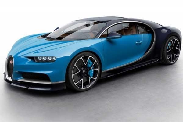 Bugatti Chiron. - foto Bugatti.com
