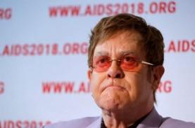Didiagnosis Pneumonia, Elton John Tak Rampungkan Konser…
