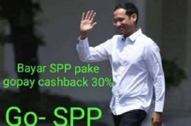 Akankah Meme Gojek Berikan Cashback untuk Bayar SPP…