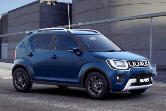 Penampakan New Ignis di laman resmi Maruti Suzuki - Dok./Maruti Suzuki.