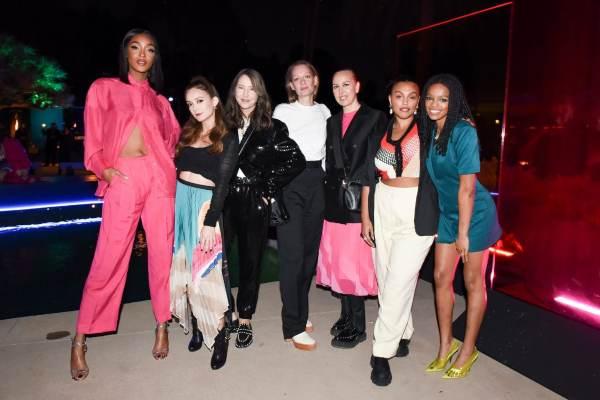 Launching koleksi H&M Studio SS20 terbaru di Beverly Hills, Los Angeles pada Rabu (12/2). - istimewa