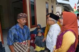 Wapres Ma'ruf Amin Tinjau Rekonstruksi Bangunan Pascagempa…