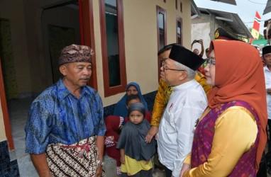 Wapres Ma'ruf Amin Tinjau Rekonstruksi Bangunan Pascagempa di Mataram