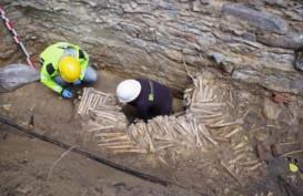 Arkeolog Temukan Dinding yang Tersusun dari Tulang Manusia