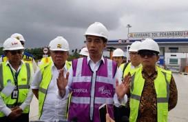 Jokowi Minta Tol Pekanbaru-Dumai Siap Beroperasi pada Lebaran 2020