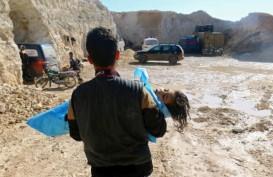 Merkel dan Macron Minta Putin Akhiri Konflik di Idlib