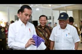 Punya Pabrik Lokal, Jokowi Minta Setop Impor Viscose…
