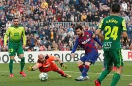 Liga Spanyol: Messi Borong Caturgol