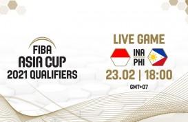 Indonesia Ditekuk Filipina 70-100 di Kualifikasi FIBA Asia Cup 2021