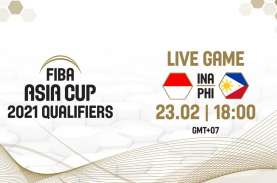 Indonesia Ditekuk Filipina 70-100 di Kualifikasi FIBA…