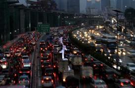 Pantau Kondisi Arus Lalu Lintas Pascabanjir di Jakarta