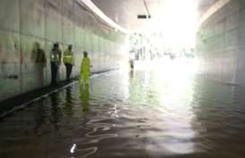 Ini Perkembangan Terbaru Genangan Banjir di Tol Wiyoto Wiyono
