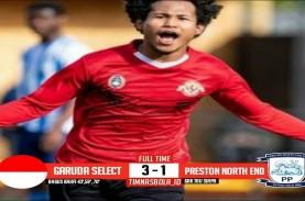 Garuda Select Hajar Preston North End 3-1, Bagus Kahfi…