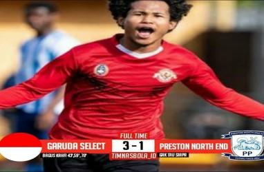 Garuda Select Hajar Preston North End 3-1, Bagus Kahfi Cetak Hattrick