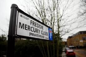 Jalan di Pinggiran Kota London ini akan Dinamai Freddie…