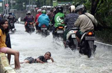 Banjir Jakarta Surut, Berikut Lokasi Genangan Hari Ini