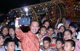 Wah, Palembang juga Punya Jembatan Gembok Cinta!