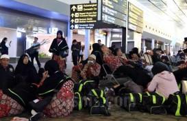 2.579 Jemaah Umrah Berhasil Mendarat di Arab pada Kamis, 27 Februari