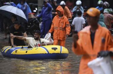 BI DKI: Kerugian Banjir Jakarta 2020 Terbilang Kecil, tapi...