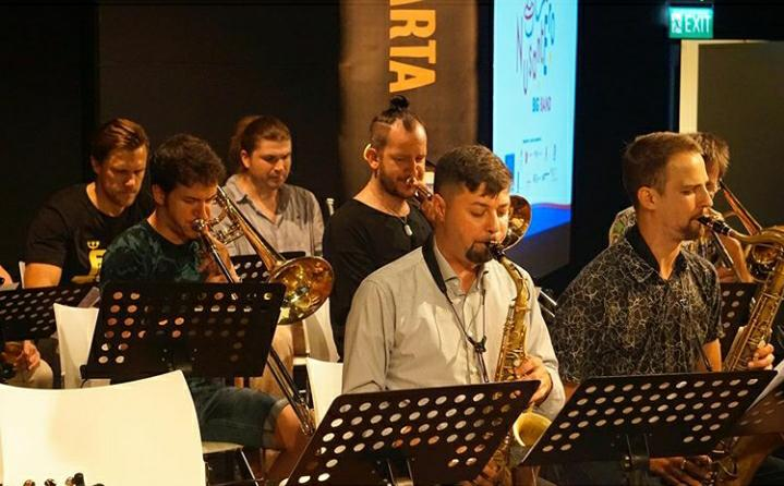 Latihan persiapan Java Jazz. - Erasmus Huis