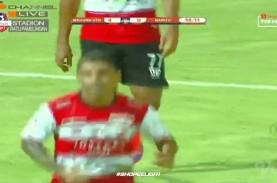 Liga 1: Madura United Hajar Barito Putera 4-0, Raih…
