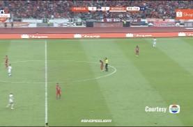 Liga 1: Seru, Persija vs Borneo FC 3-2. Persija Raih…