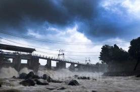 Ketinggian Air di Bendungan Katulampa Bogor Kini Normal