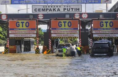 Sejumlah Wilayah di Jakarta Timur Masih Tergenang Air