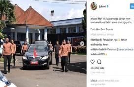 Paspampres dan Wartawan pun Diperiksa Suhu Tubuhnya Sebelum Masuk Istana