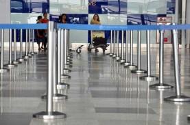 Penerbangan di Bandara Kualanamu Turun