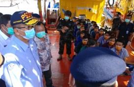 KKP Bekuk Lima Kapal Ikan Asing Ilegal di Laut Natuna Utara