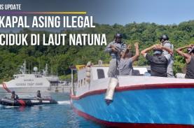 5 Kapal Asing Ilegal Diciduk di Laut Natuna