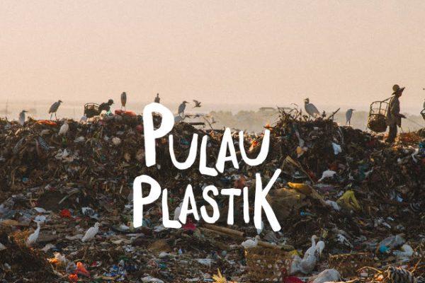 Film dokumenter Pulau Plastik. - ilustrasi