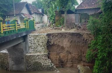 Proyek Talut di Panggungharjo ini Mencurigakan,  2 Kali Ambrol dalam Setahun