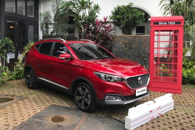 MG ZS ditampilkan dalam sesi pengenalan anak usaha Morris Garage di Indonesia, di Jakarta, Kamis (5/3/2020) - Bisnis.com/Fatkhul Maskur.