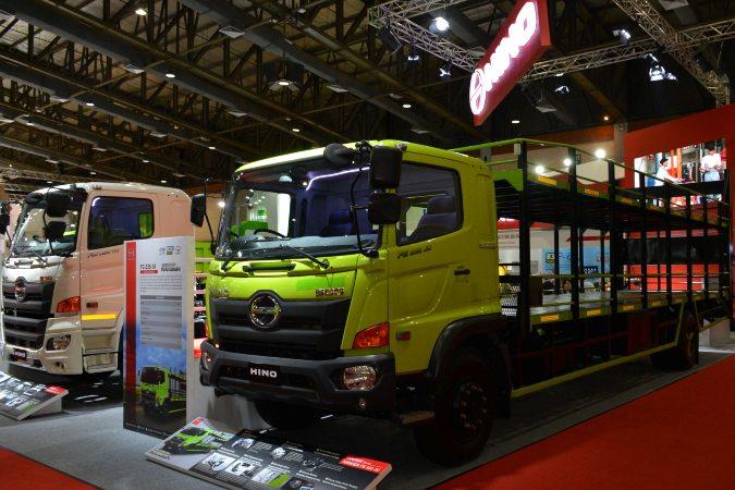Truk Terbaru Hino, Ranger FG 235, dipamerkan dalam ajang Gaikindo Indonesia International Commercial Vehicle (Giicomvec) 2020/Kamis (5/3/2020) - Dok. Hino.