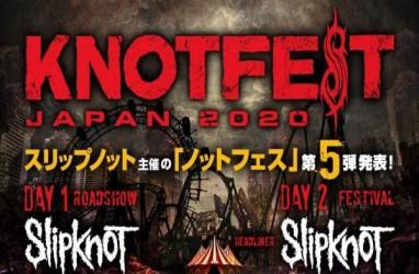 Festival Musik Rock Knotfest Japan Ditunda Gara-Gara Virus Corona