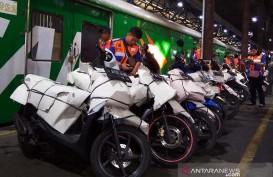 Dua KA Layani Angkutan Sepeda Motor Gratis Lintas Selatan Jawa
